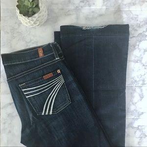 7FAM Dojo Jeans 26x29
